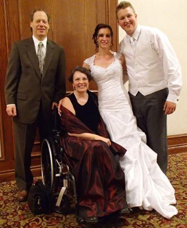 Priscilla with Sarah and Bryan